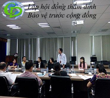 Lập báo cáo đánh giá tác động môi trường (ĐTM)