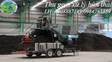 Thu gom vận chuyển xử lý bùn thải