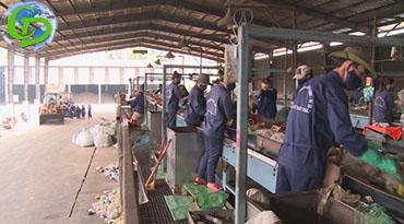 Thu gom vận chuyển xử lý rác thải tại Bình Dương